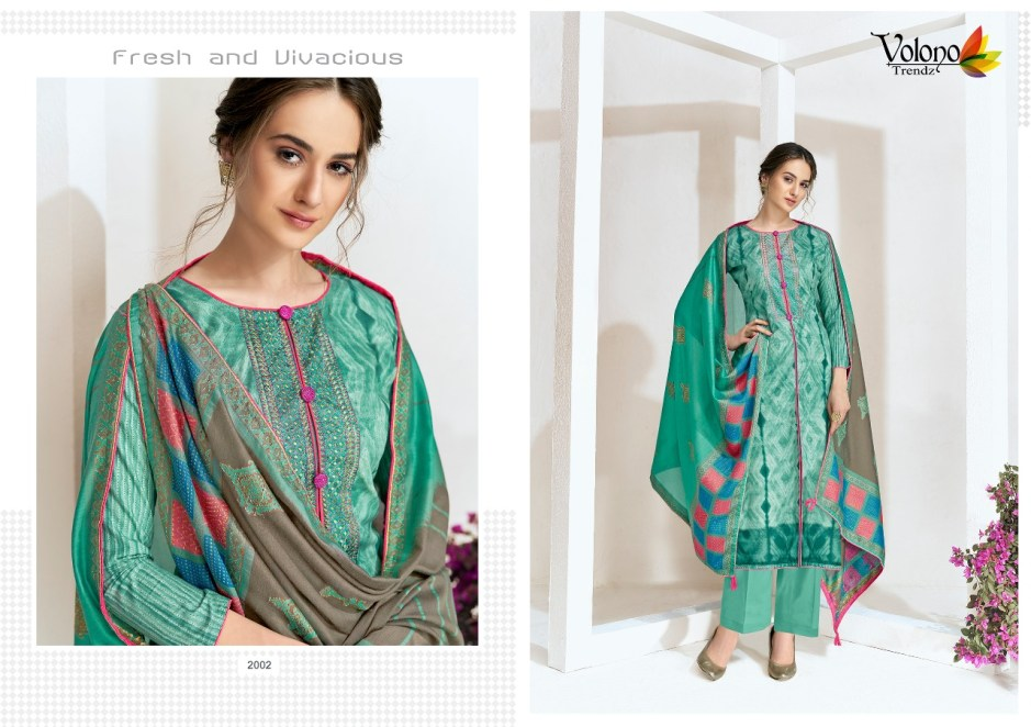 volono trendz elan vol 1 fancy collection of salwaar kameez