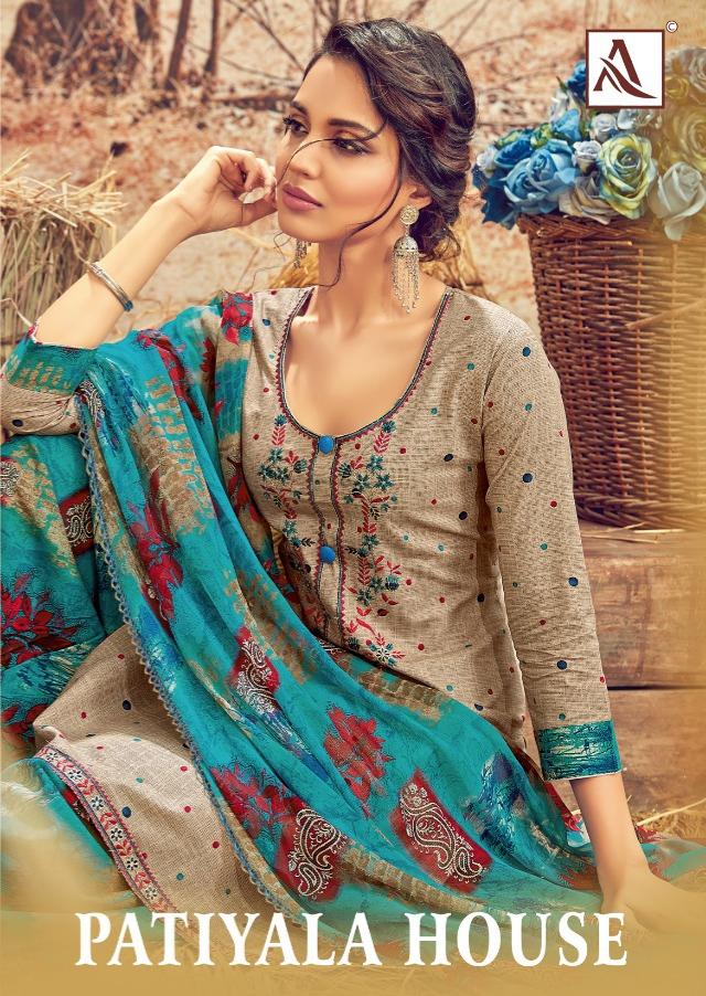 Alok suit patiyala house ladies designer patiayala salwar suit at best price