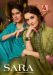 Alok suits sara cotton dupatta bandhani printed collection