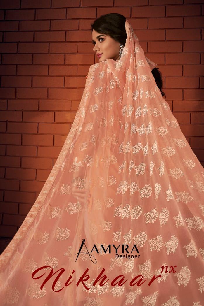 Amyra designer nikhar nx cambric cotton salwar suit Material