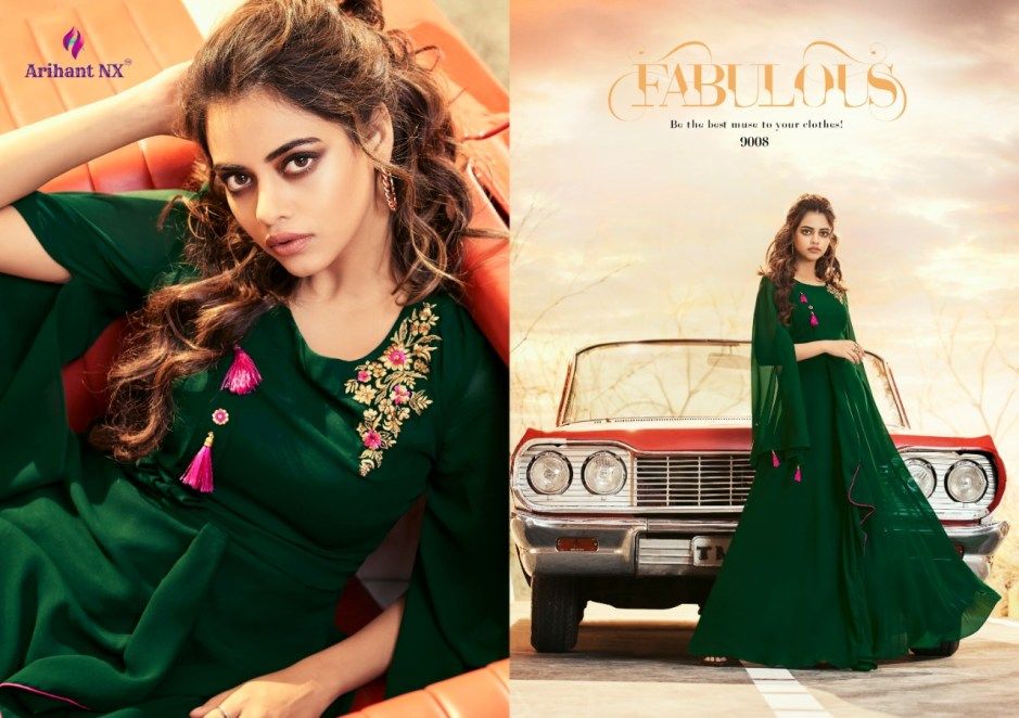 Arihant designer zara vol 2  beautiful ready to wear long gowns