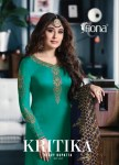 Fiona kritika heavy dupatta hitlist festive wear salwar kameez collection