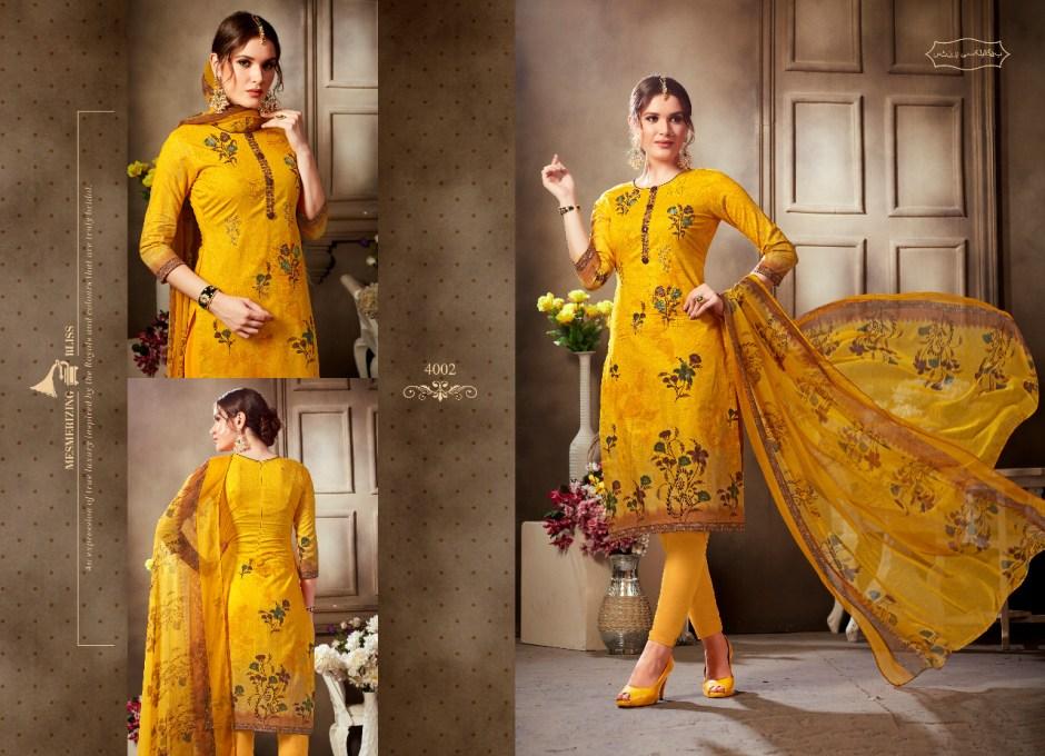 Holine honey star vol 4 digital printed dress Material collection