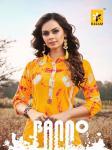 Kalam banno bandhani printed kurties collection