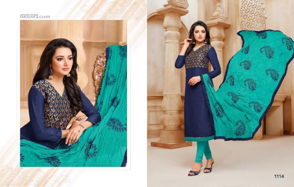 kasmeera kaamini  silk vol 3 colorful fancy collection of salwaar suits at reasonable rate