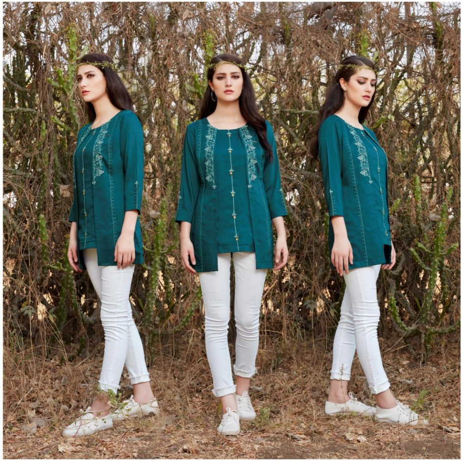 Lymi maxim beautiful colours short tunics collection