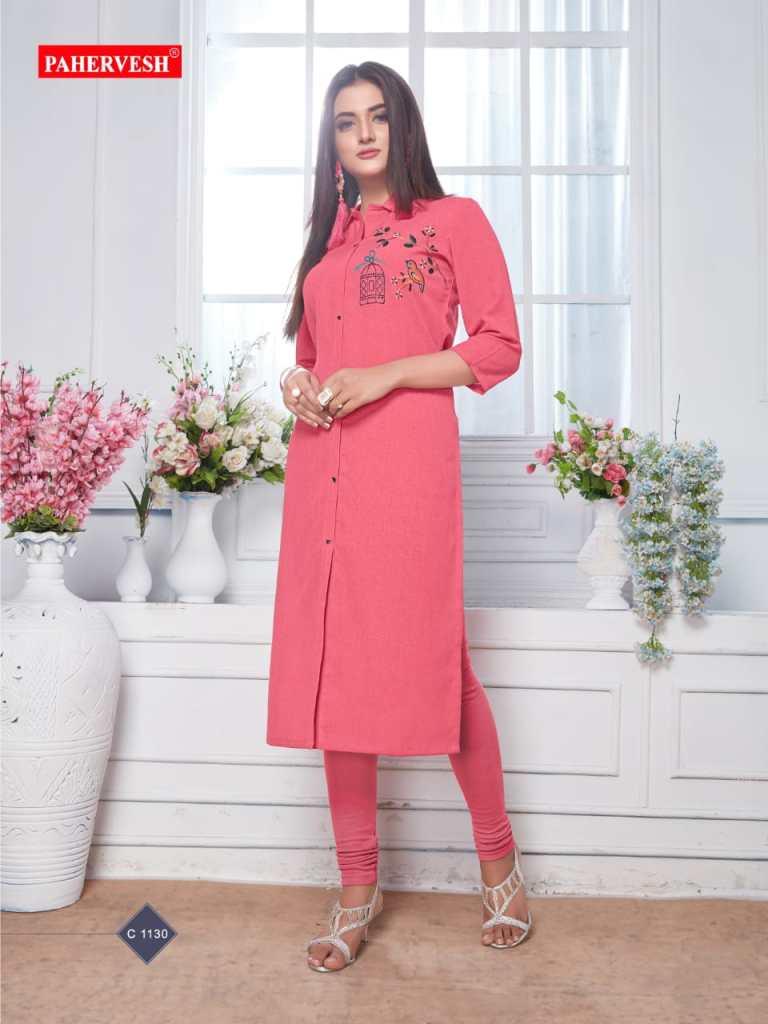 pahervesh albeli fancy ready to wear kurtis catalog at reasonable rate