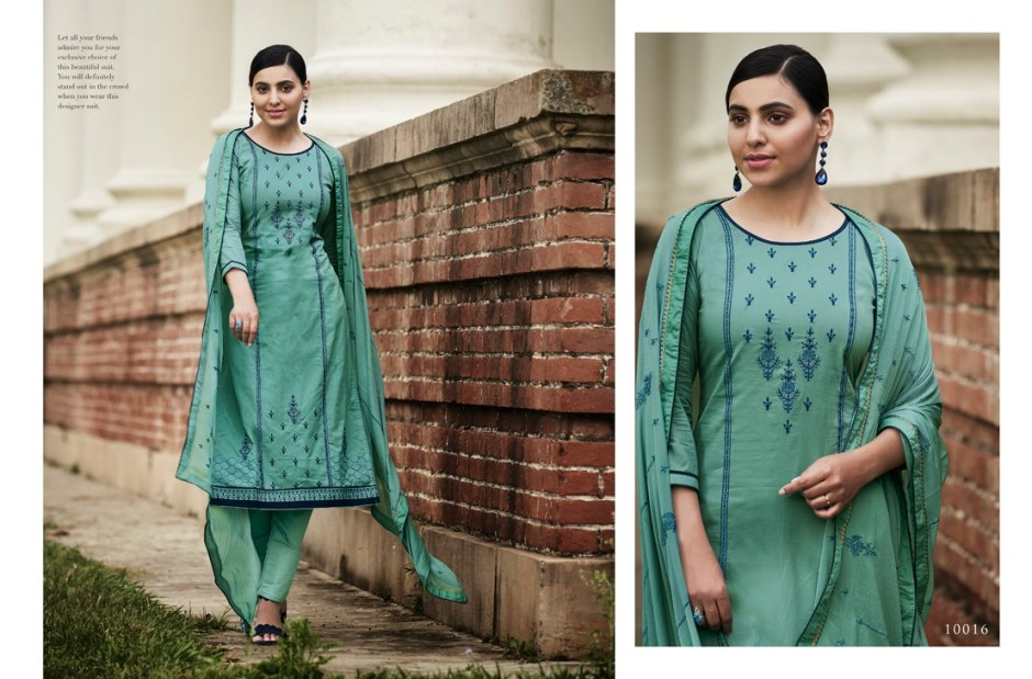 Ramaiya pahenava pure cotton salwar kameez collection