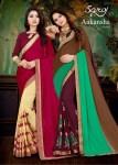 Saroj akansha vol 3 colourful sarees collection