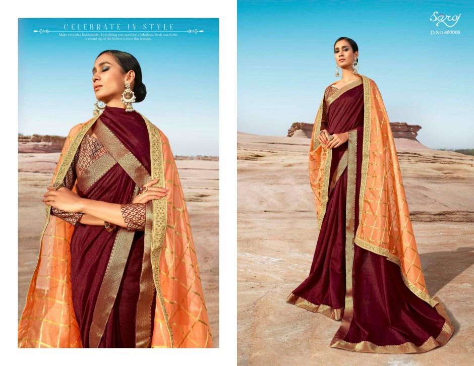 Saroj noorjahan designer fancy saree collection dealer