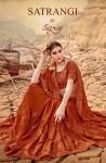 Saroj satrangi vol 2 colourful fancy silk Sarees collection