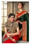 Saroj suhani colourful fancy sarees at wholesale rate