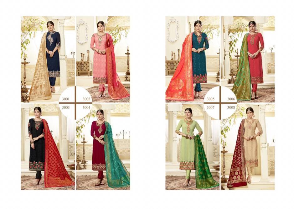 Sarvada creation gaama embroidered salwar kameez collection