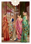 shakunt weaves yogini fancy designer collection of sarees