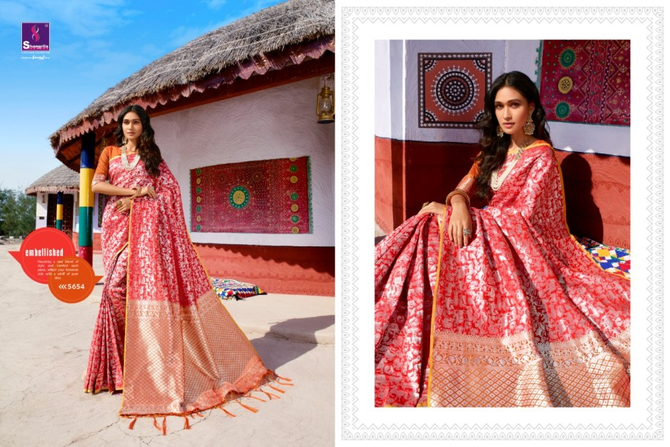 Shangrila panihari fancy silk sarees collection at best price