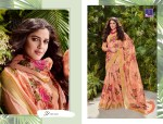 shangrila shakshi cotton vol 4 fancy collection of sarees at reasonable rate