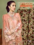 Shree fabs crimson premium eid collection nx Karachi suits catalog