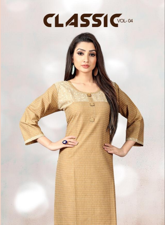 Sweety fashion classic vol 4 daily wear classy kurties collection