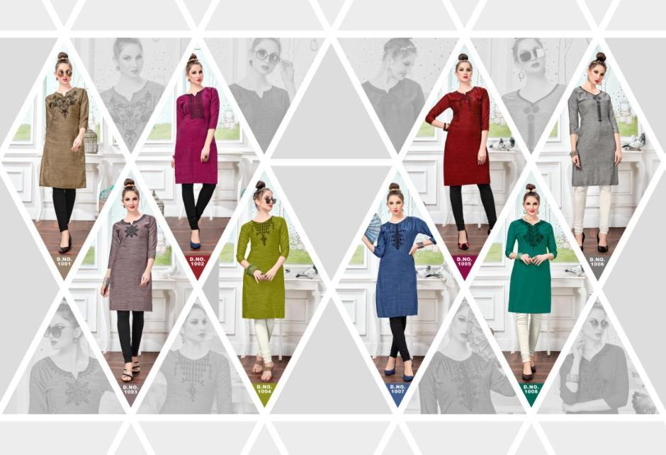 Sweety fashion prime rayon classic elegant kurties wholesaler