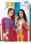 tzu life nancy fancy colorful collection of kurtis at reasonable rate