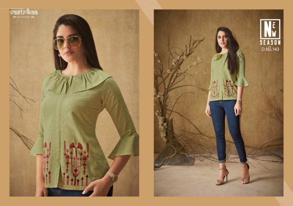 vastrikaa summer fancy ready to wear kurtis at reasonable rate