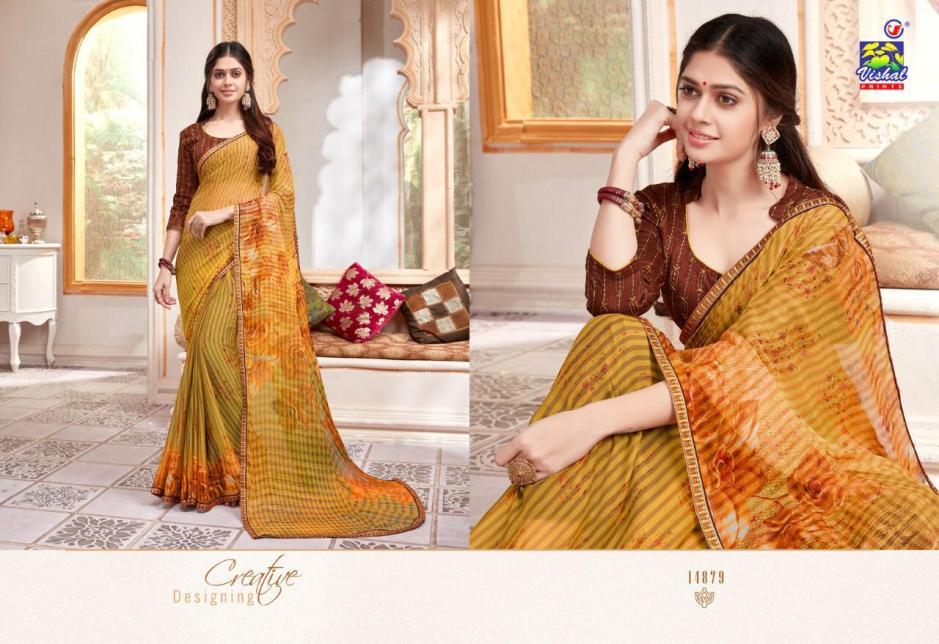 Vishal prints mohini Traditional ladies saree collection