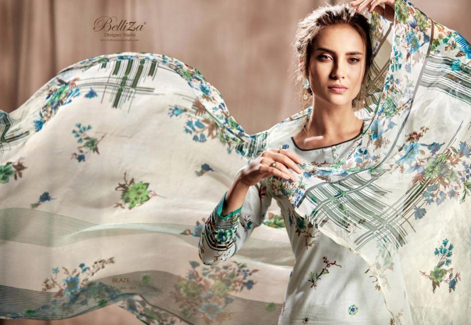 Belliza designer studio Amber digital printed salwar kameez collection