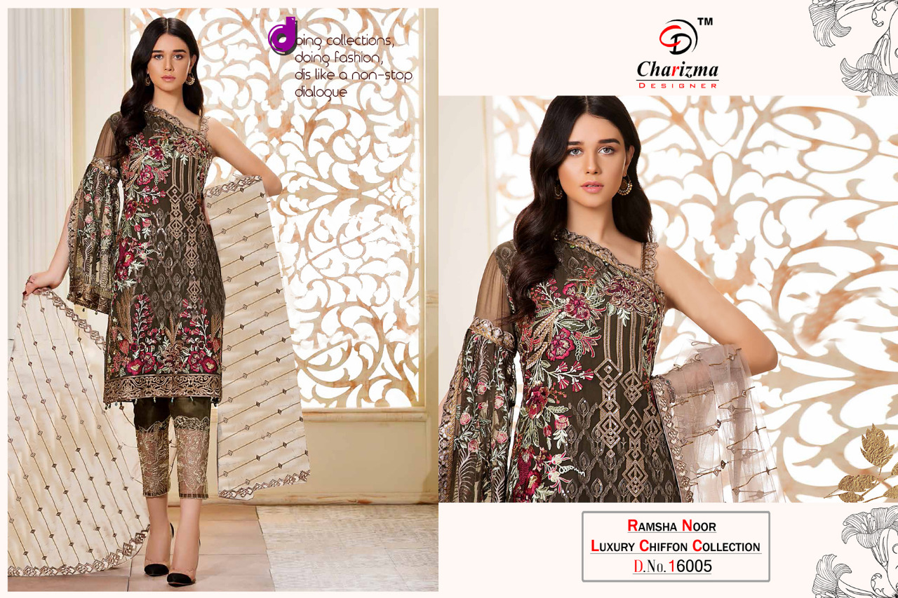 8094c7428b Charizma designer ramsha noor luxury pakistani salwar kameez Collection