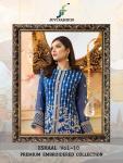 Juvi fashion eshaal vol 10 premium georgette pakistani salwar Material online