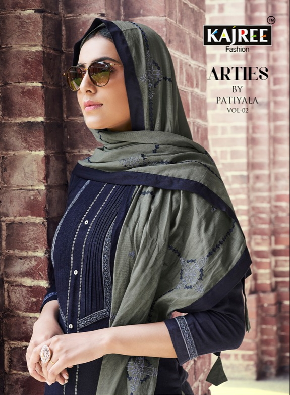 Kajree fashion arties by patiala vol 2 ready made patiala collection