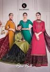 Kalarang creation bluebell cotton fancy salwar kameez collection