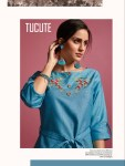 Karma trendz tucute 513 series fancy printed ready to wear kurties Online at wholesale rate
