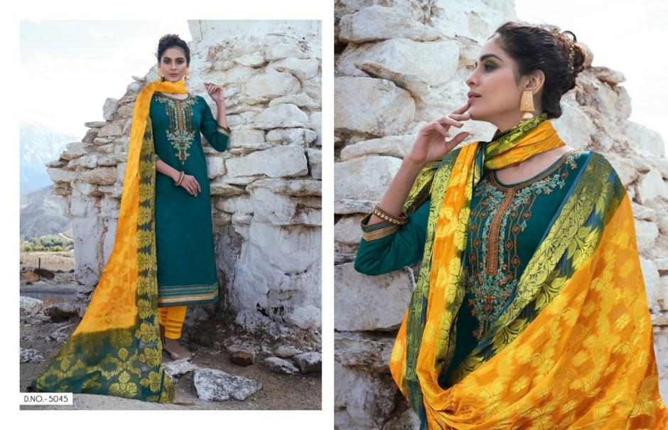 Kessi fabrics parampara vol 5 embroidered salwar kameez collection dealer
