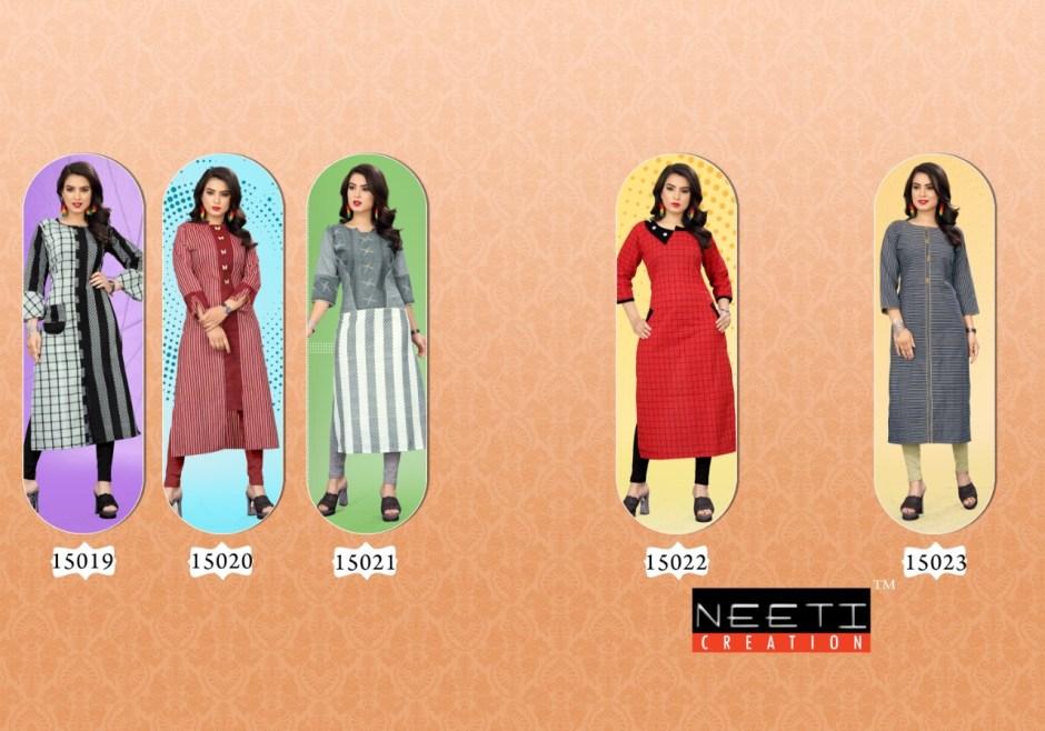Neeti creation naina daily wear casual kurties catalog dealer