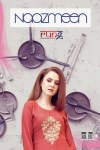 Rung naazmeen Foil printed rayon kurti with plazzo collection dealer