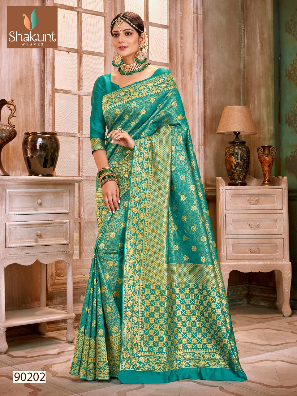 Shakunt weaves prabhodini Traditional printed silk sarees collection Wholesaler