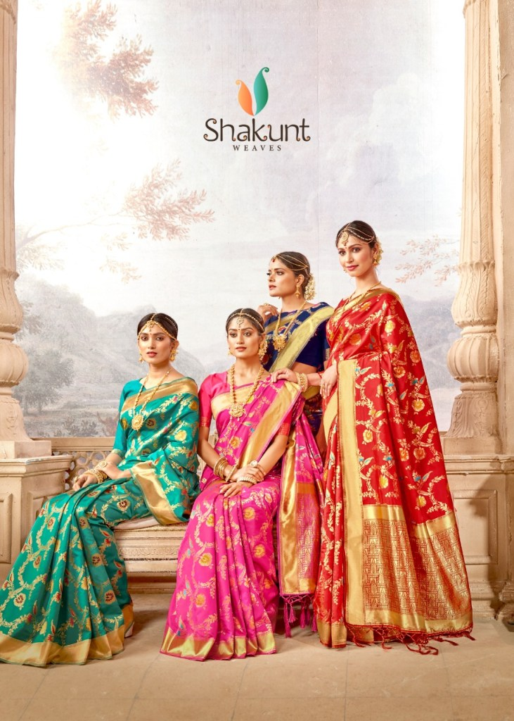 Shakunt weaves sharda festive wear Traditional sarees collection