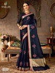 Shakunt weaves shobha colourful party wear sarees catalog