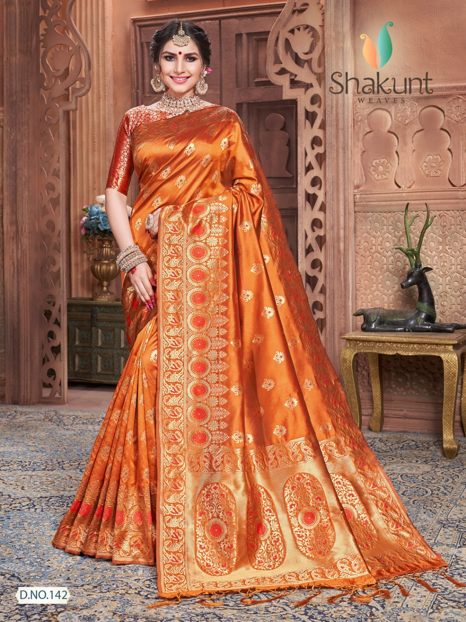 Shakunt weaves tapaswini indian wear silk sarees catalog