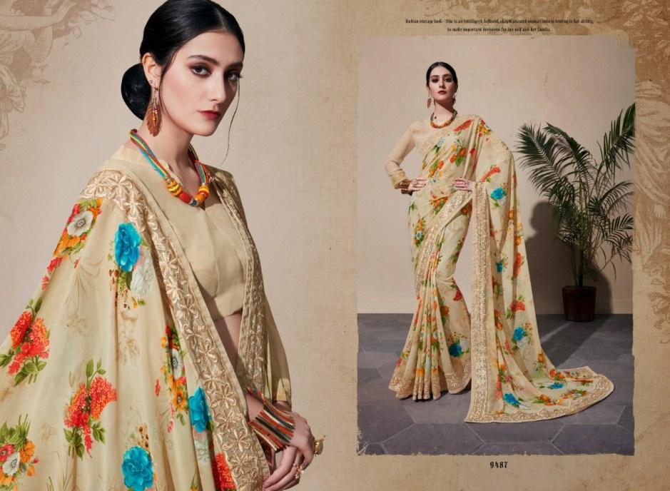 Shangrila kaamini vol 10 Traditional sarees collection