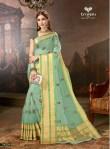 Triveni Dayaneeta colourful sarees collection at wholesale rate