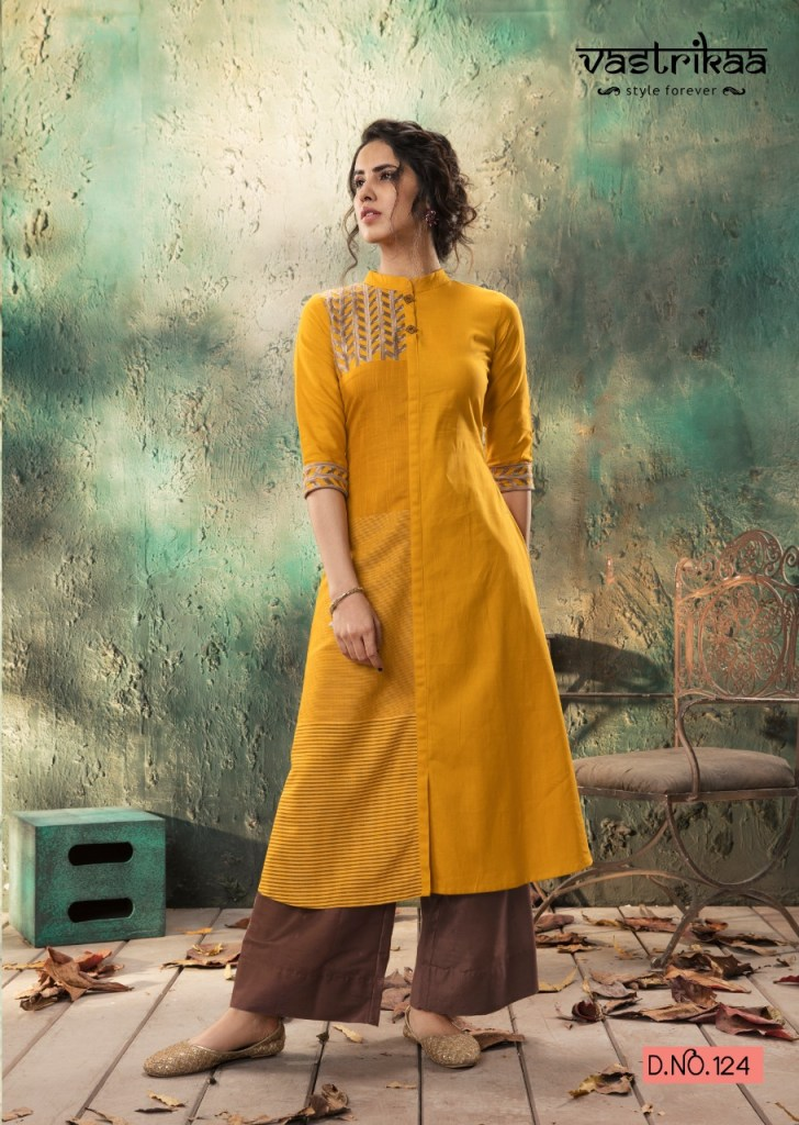 Vastrikaa bliss kurti with plazzo collection at wholesale rate