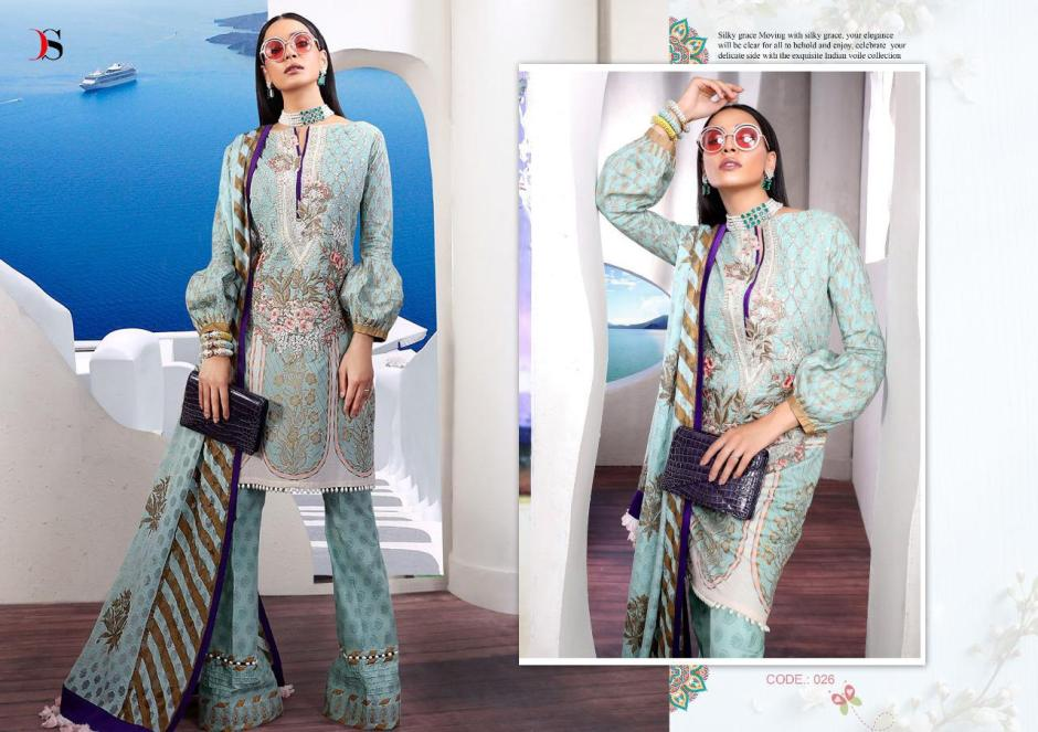 Deepsy suits muzlin premium pakistani work salwar suits at wholesale rate