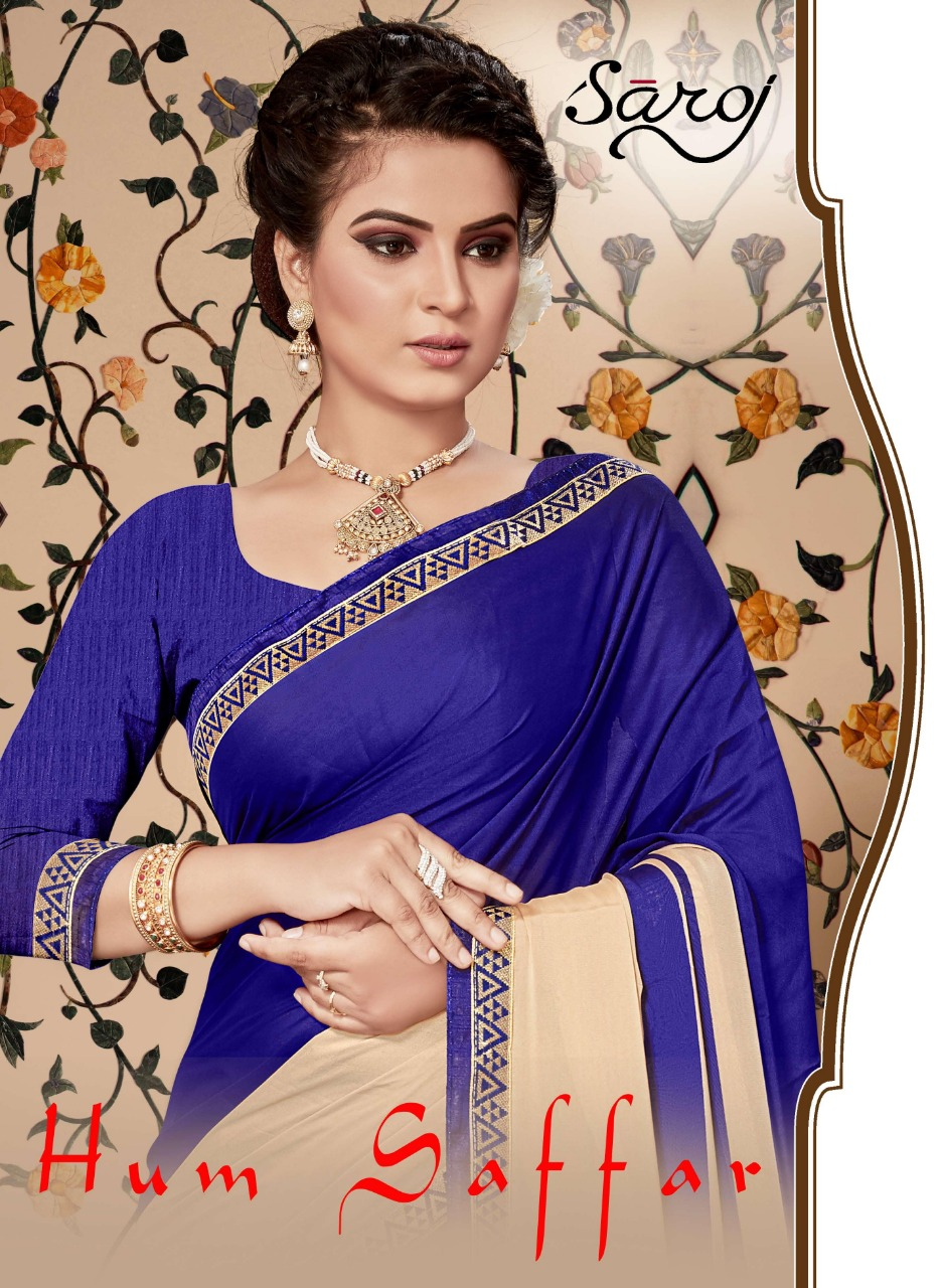 Saroj hum saffar colourful silk sarees online dealer at best rate