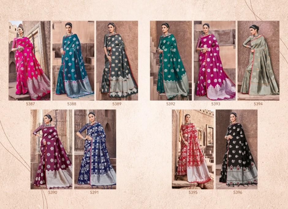 shangrila ojhasvi vol 3 silk sarees collection dealer