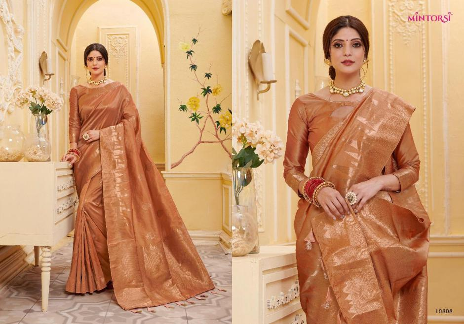 Varsiddhi mintorsi glamour traditional banarasi silk sarees at wholesale rate