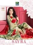 Vishal prints sayra beautiful colours party wear saree catalog