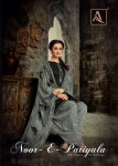 Alok suit Noor e Patiyala beautiful collection of Punjabi Salwar suit