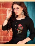 Envy9 pari vol 1 embroidered rayon kurti with plazzo collection