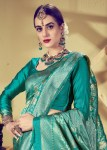 Kianaa saayara fancy party wear silk sarees exporter